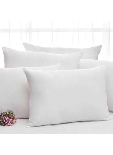 Taç Silikon Elyaf Yastık 50X70 Cm Beyaz